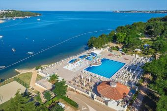 Pool am Meer - Lanterna Premium Camping Resort, Kroatien