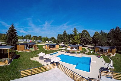 Mobilhomes  am Pool - Plitvice Holiday Resort, Kroatien