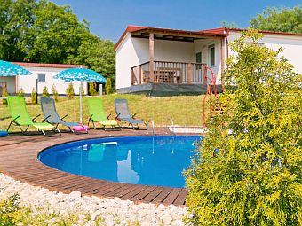 Jelovci Resort - Bungalow mit Pool, Istrien